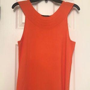 Bright Orange Dressy Tank
